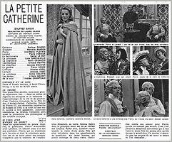 """Affiche du téléfilm """"La Petite Catherine""""."""