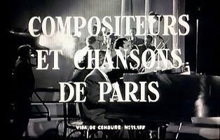 """Image du générique de """"Compositeurs et Chansons de Paris""""."""