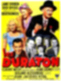 """Affiche du film """"Les Duraton""""."""