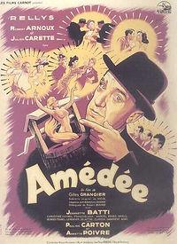"""Affiche du film """"Amédée""""."""