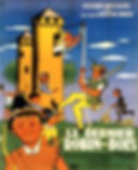"""Affiche du film """"Le Dernier Robin des Bois""""."""