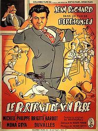 """Affiche du film """"Le Portrait de son Père""""."""