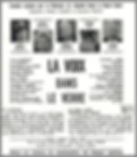 """Affiche du téléfilm """"La Voix dans le Verre""""."""