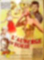 """Affiche du film """"L'Auberge en Folie""""."""