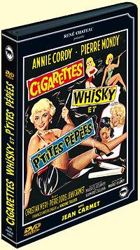 """DVD du film """"Cigarettes, Whisky et p'tites Pépées"""""""