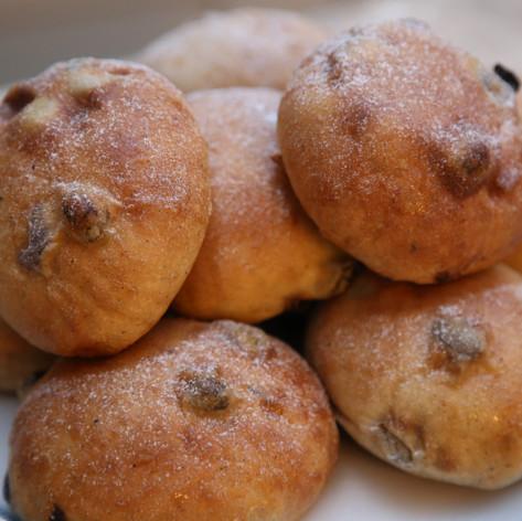 Sourdough teacakes 4 for £3.10