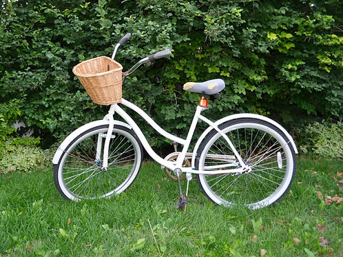 Antique Bike with Basket