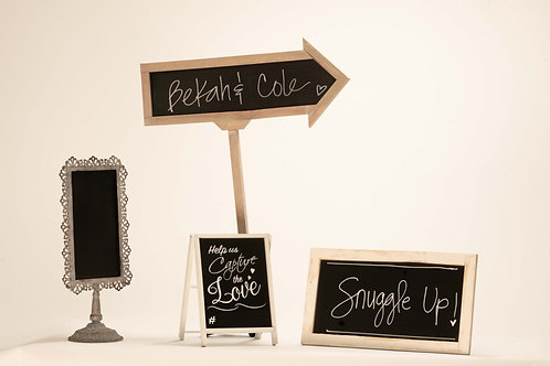 Various Chalkboards