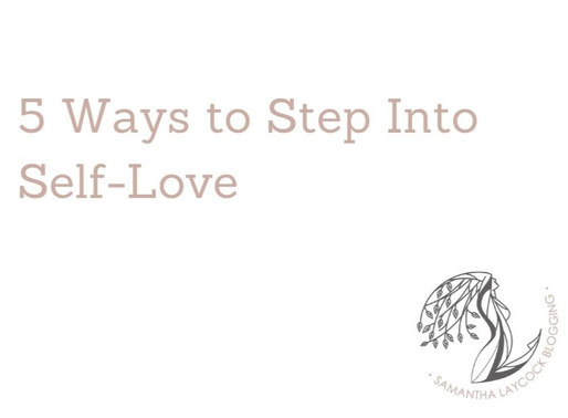 5 Ways to Step into Self-Love