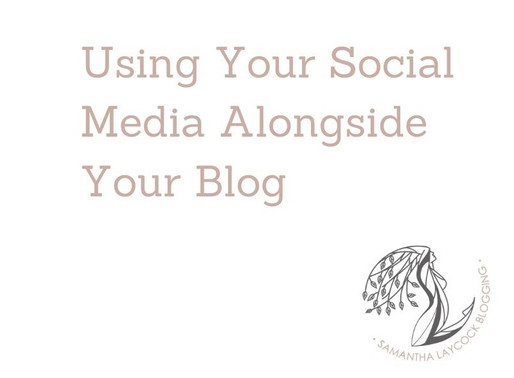 Using Your Social Media Alongside Your Blog