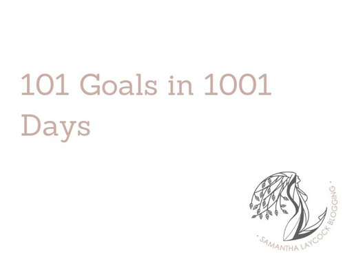 101 Goals in 1001 Days
