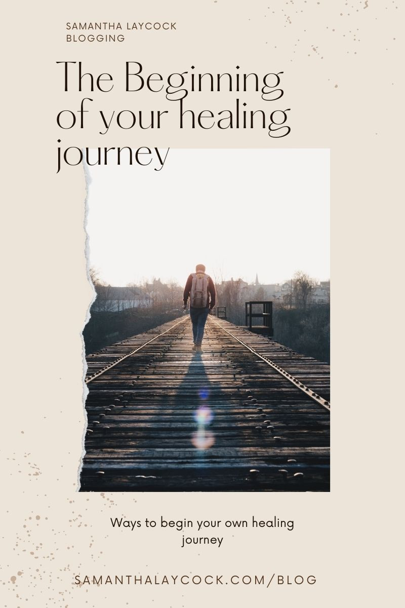 It is time to take intentional steps in your healing process.