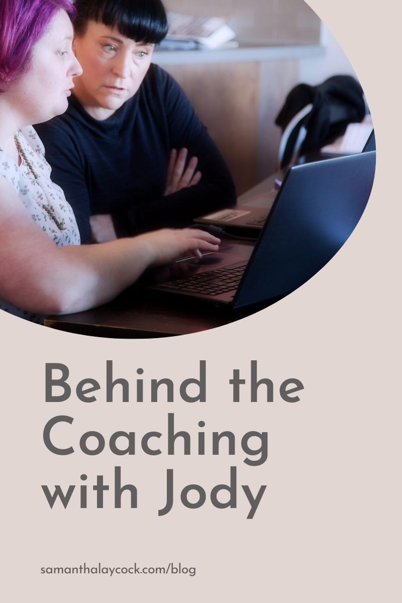 An interview with my client, Jody Laird, who shares her experience with blog coaching.