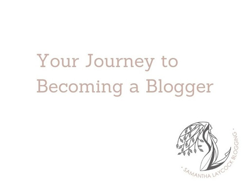 Your Journey to Becoming a Blogger