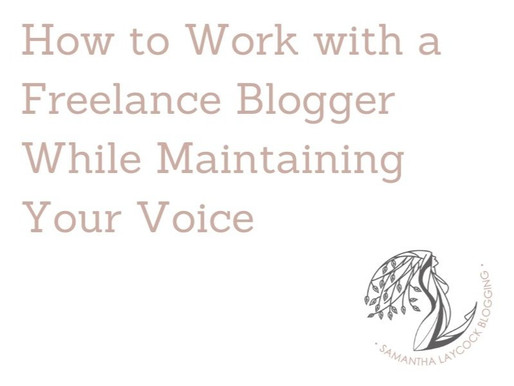 How to Work with a Freelance Blogger While Maintaining Your Voice