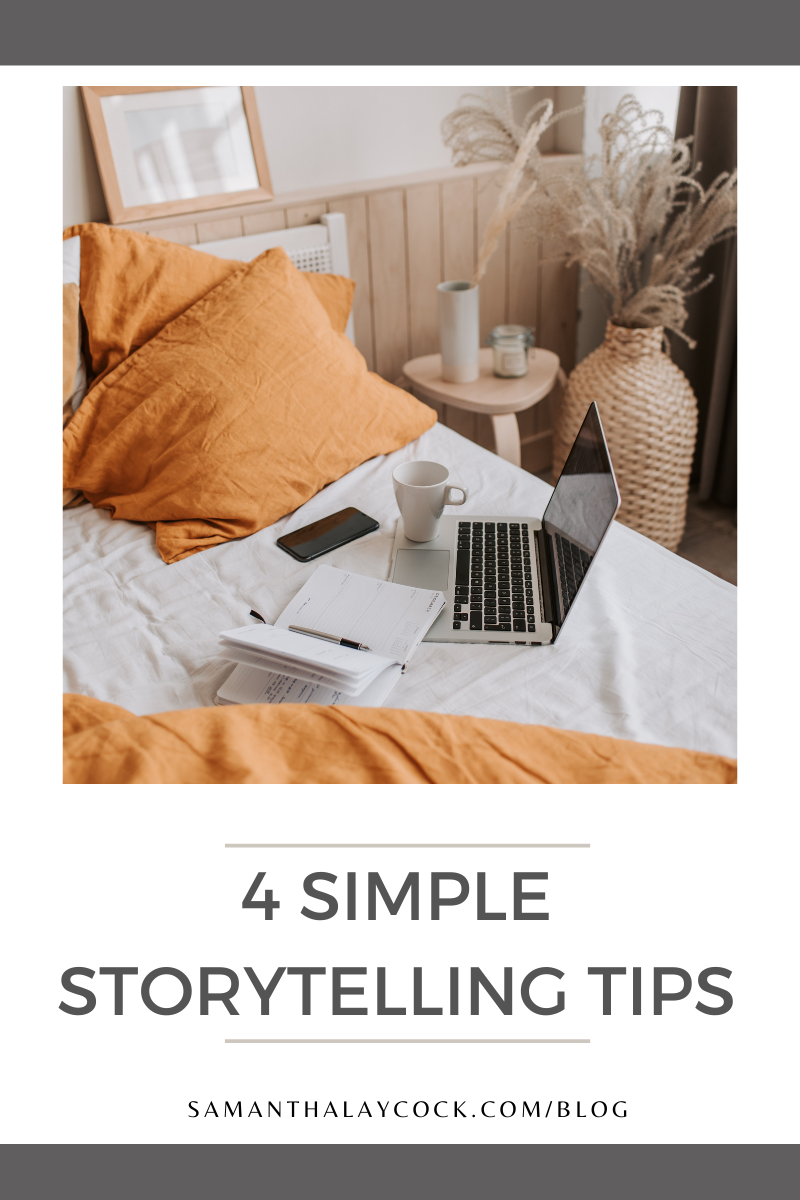 Adding storytelling into your blog posts.