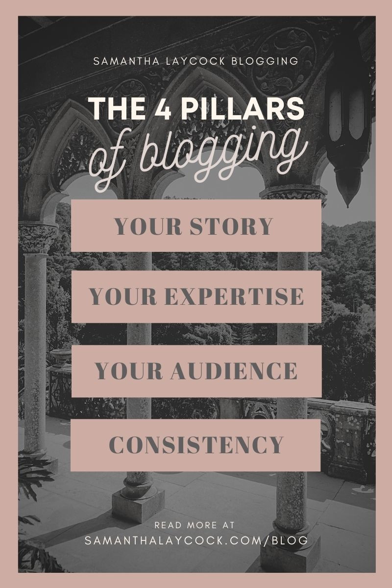 Using these 4 layers to help you build your blogging foundation.