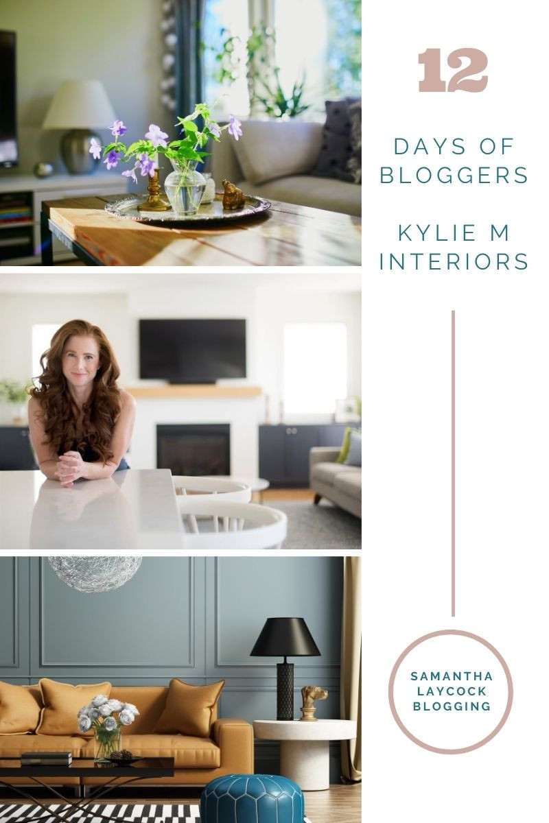 12 days of bloggers series featuring Kylie M Interiors
