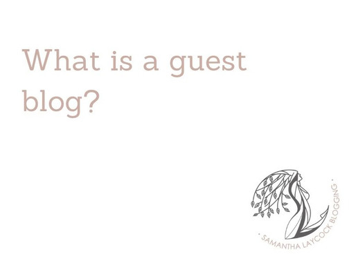 What is a Guest Blog?