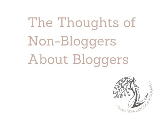 The Thoughts of Non-Bloggers About Bloggers