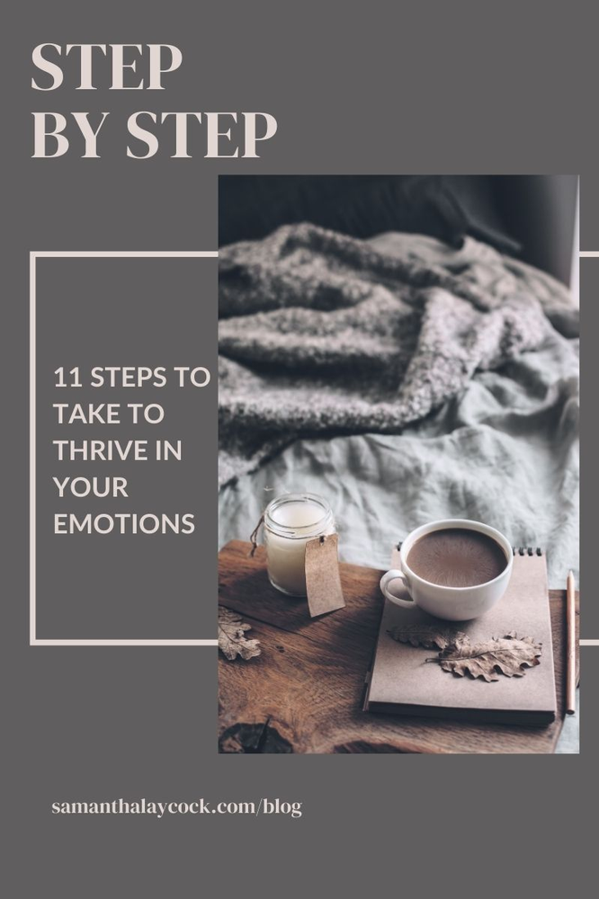 How to Thrive In Your Emotions