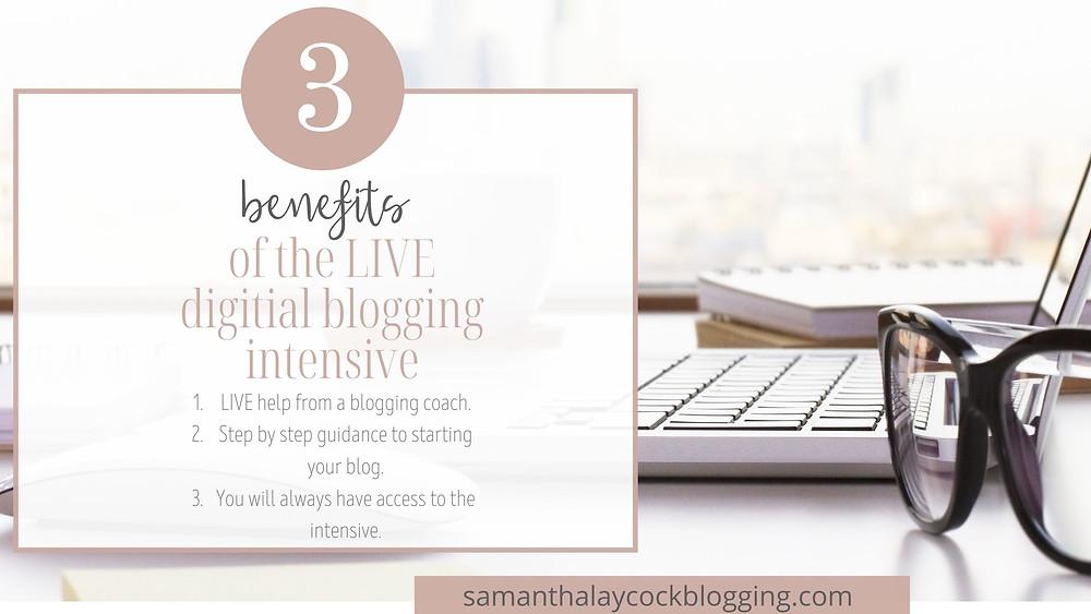 Join the LIVE Digital Blogging Intensive happening on October 24 & 25.