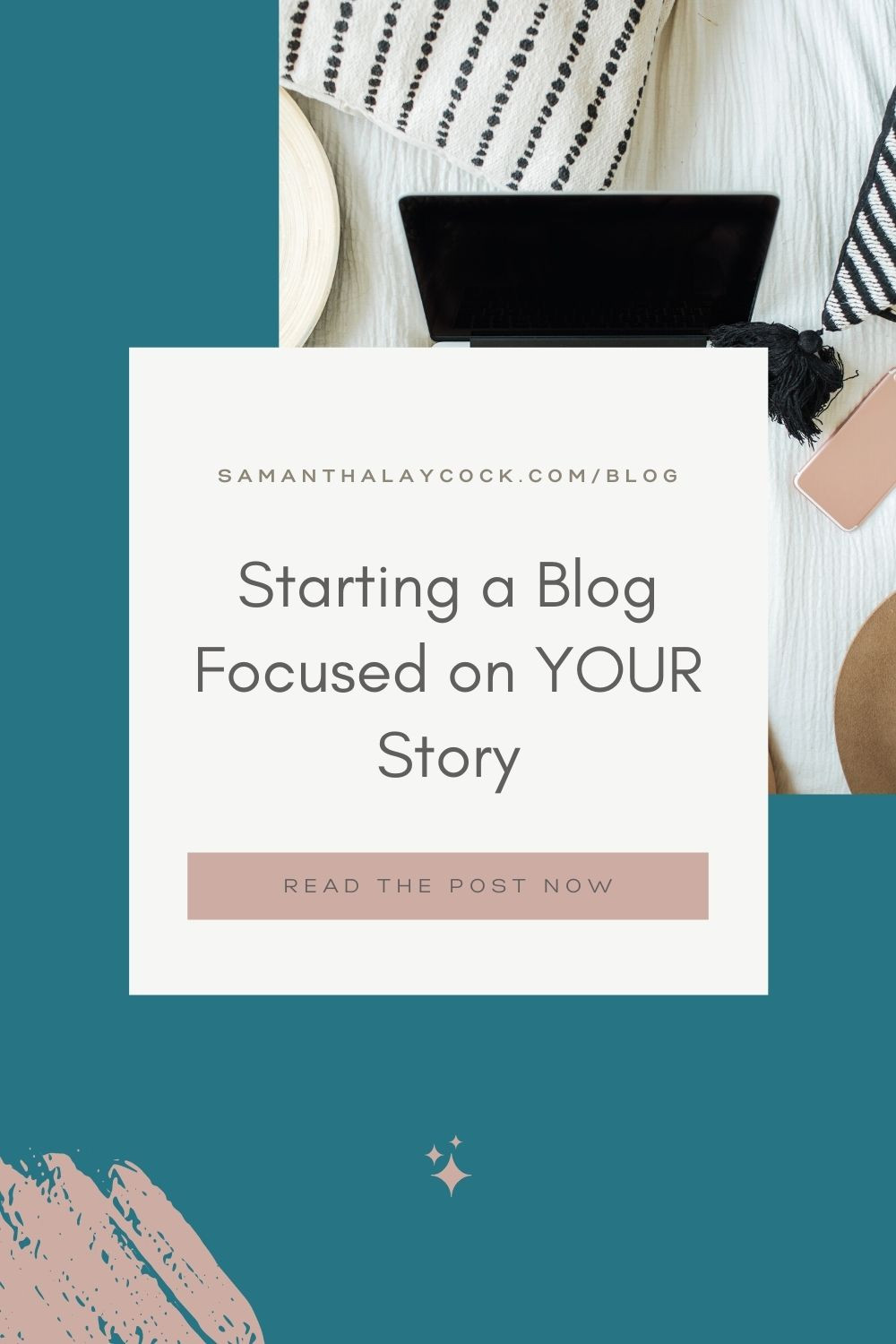 Starting a blog that is focused on your story is possible.