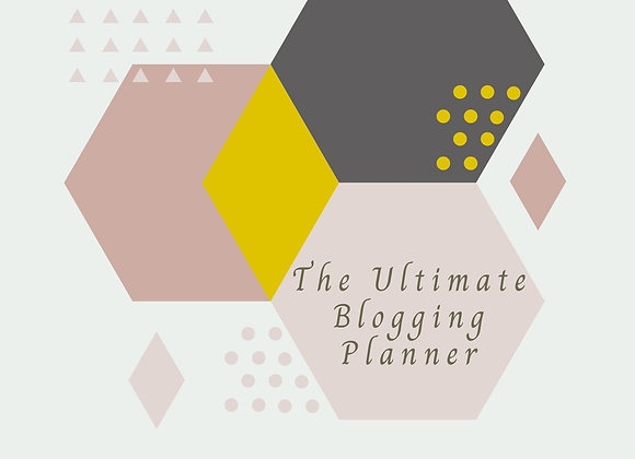 The Ultimate Blogging Planner