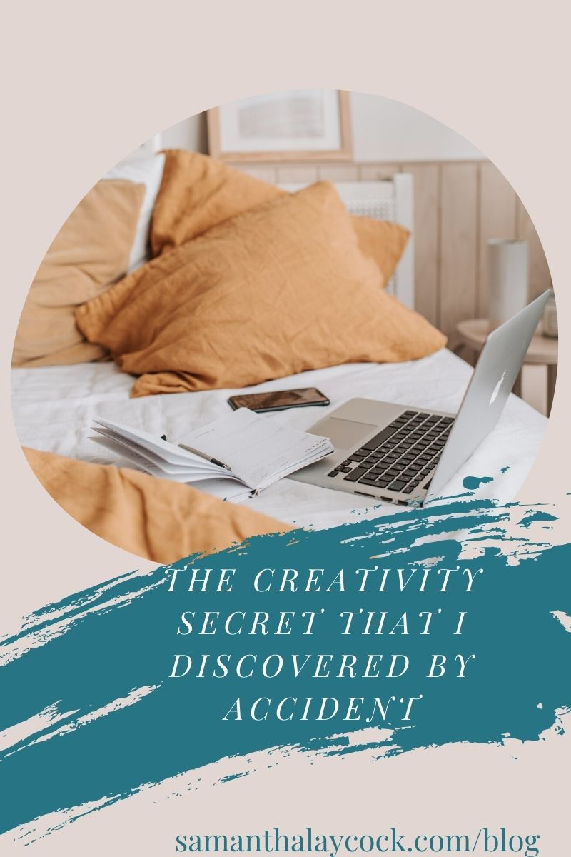 I changed this one thing in my life and improved my blogging creativity.
