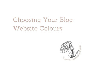 Choosing Your Blog Website Colours