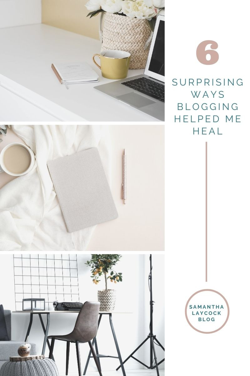 Using blogging as a way to help you on your healing journey.