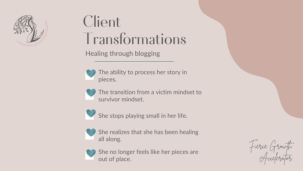 Are you ready to transform your life through blogging?