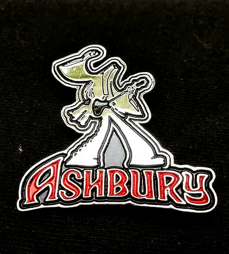 Ashbury - Enamel / metal pin