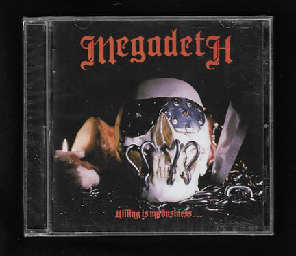 Megadeth Killing is my business... CD