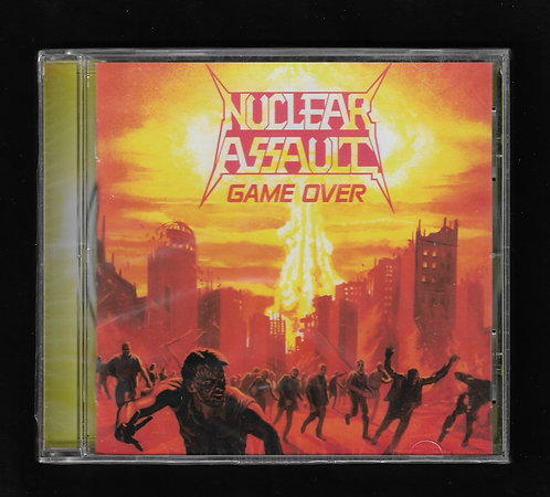 Nuclear Assault Game Over CD