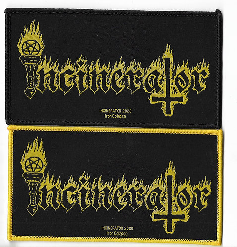 Incinerator Official Woven Patch