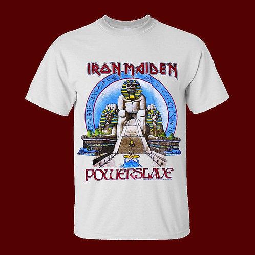 Iron Maiden Powerslave Vintage Remake T-shirt