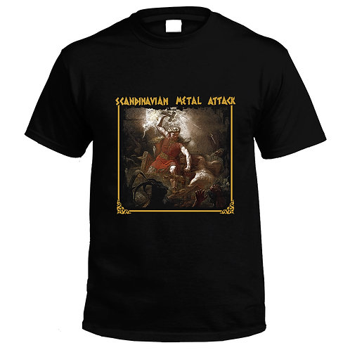 Scandinavian Metal Attack - T-shirt