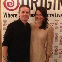 Colin and his fiancé Rachel