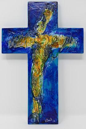 Holzkreuz Jesus