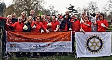 'NL doet' Zorgboerderij Noordwijkerhout