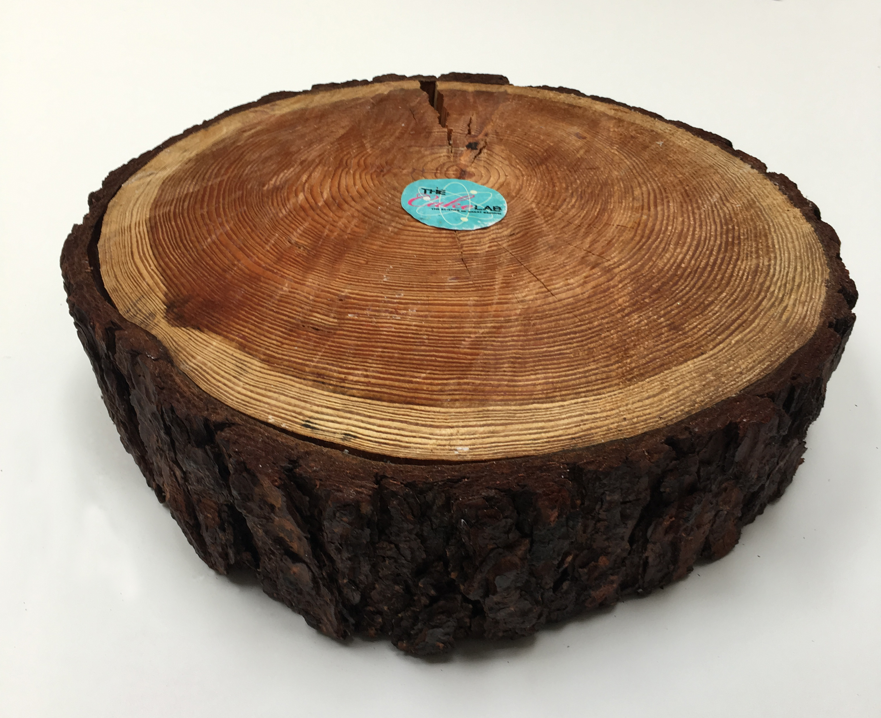 Large Real Wood Cake Stand for hire.