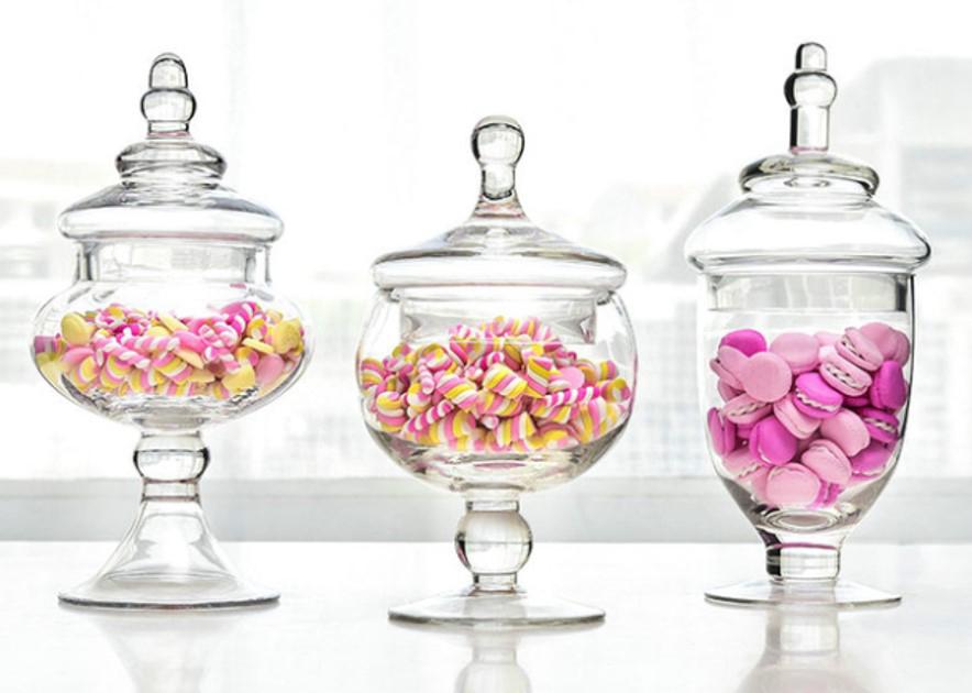 Glass Apothecary Jars
