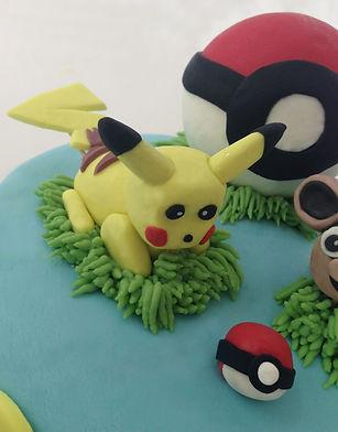 Pokemon Pikachu Birthday Cake Topper
