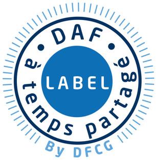 """Label """"DAF à temps partagé"""