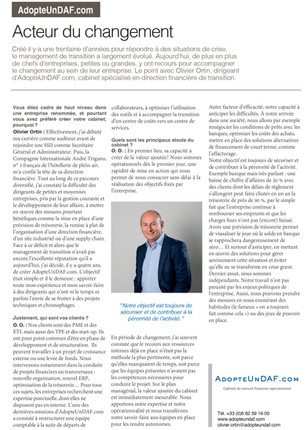 AdopteUnDAF.com et le management de transition