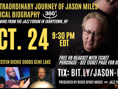 October 24-2020-The Extraordinary Journey of Jason Miles-A Musical Biography