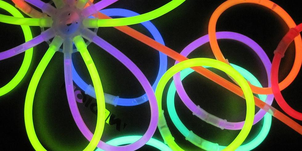 Glow in the Dark Game Night