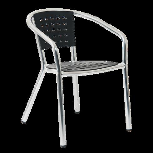 Stackable Aluminium & Plastic Chairs