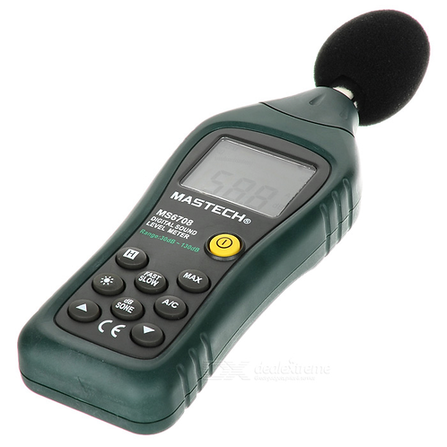 Mastech MS6708 Digital Sound Level Meter